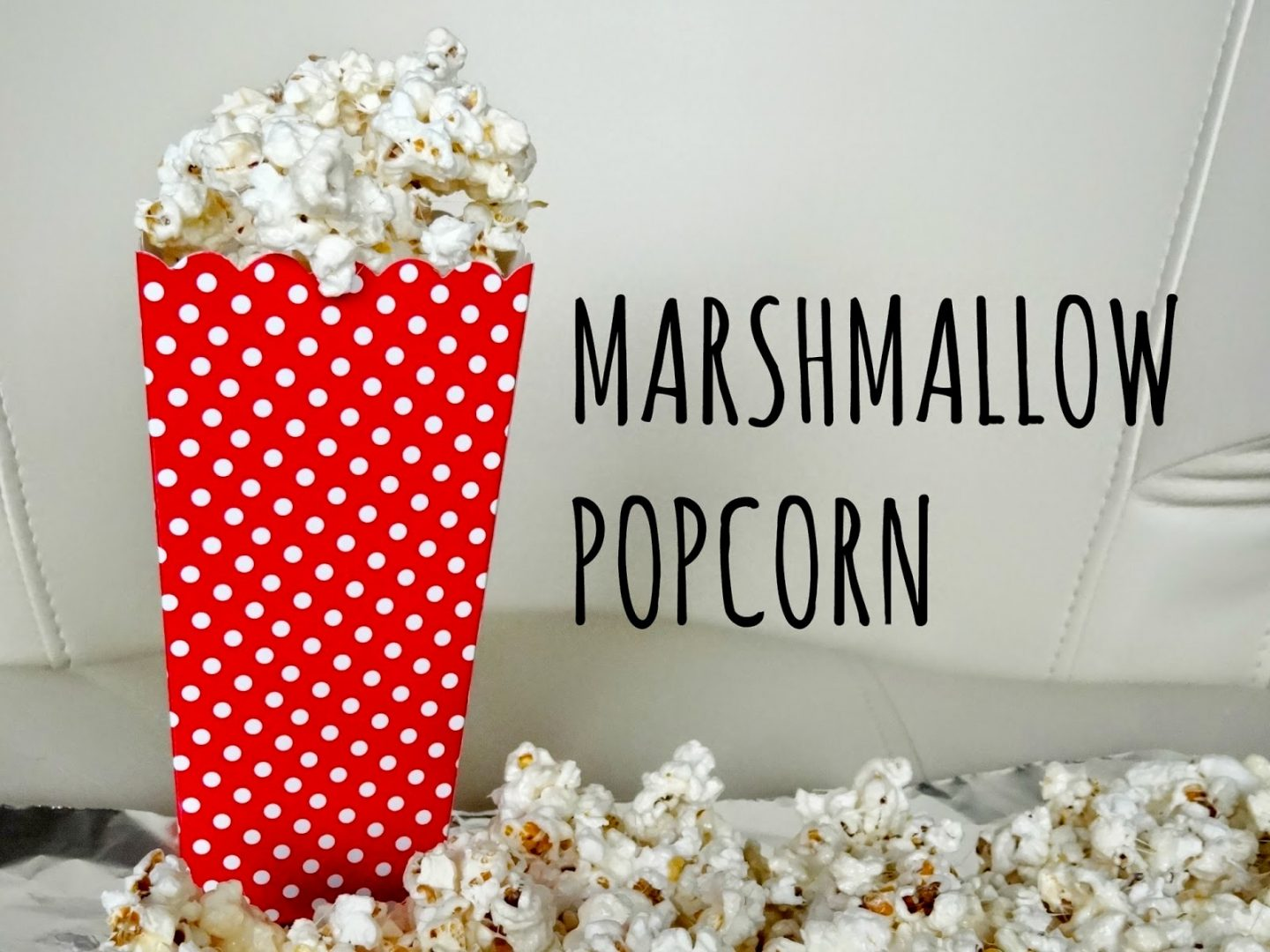 Gooey Marshmallow Popcorn In 10 Steps | DIY