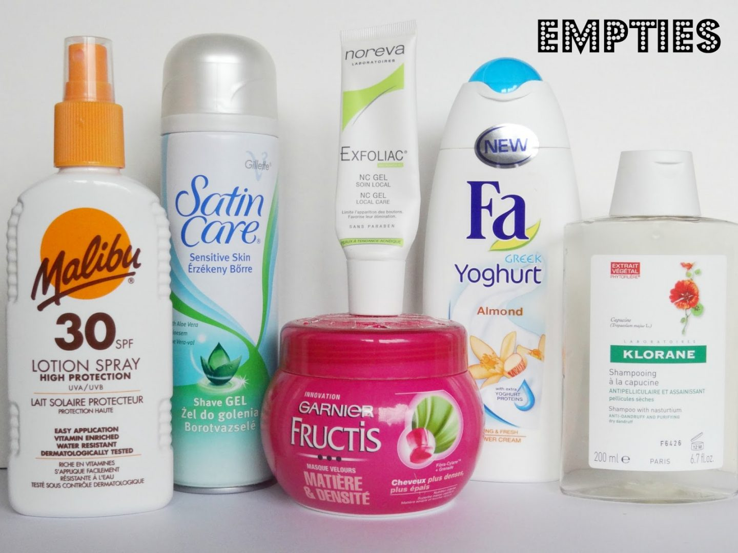 Empties #1 | Products I've Used Up