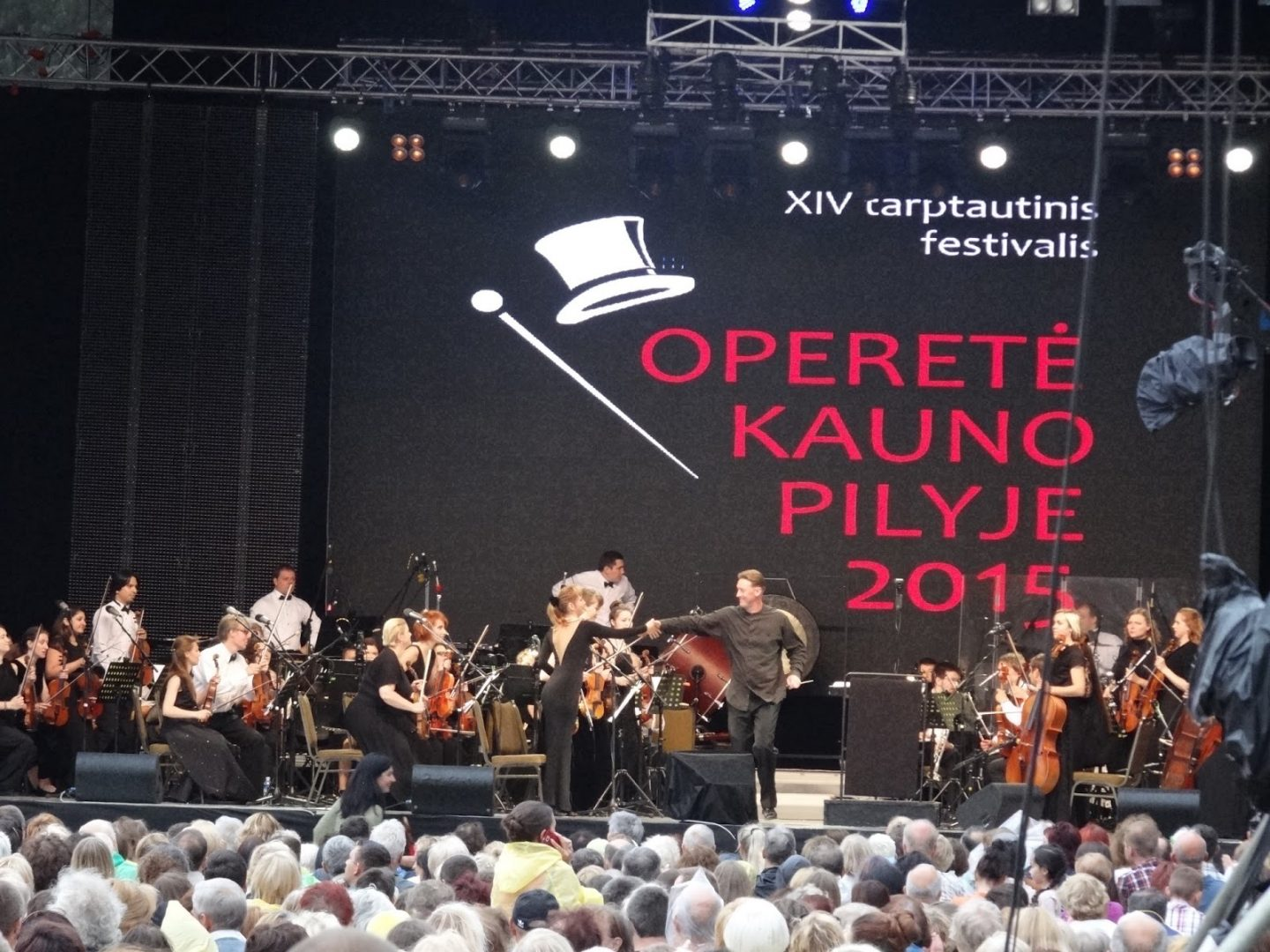 An Evening With Festival 'Operetta in Kaunas Castle' | 2015