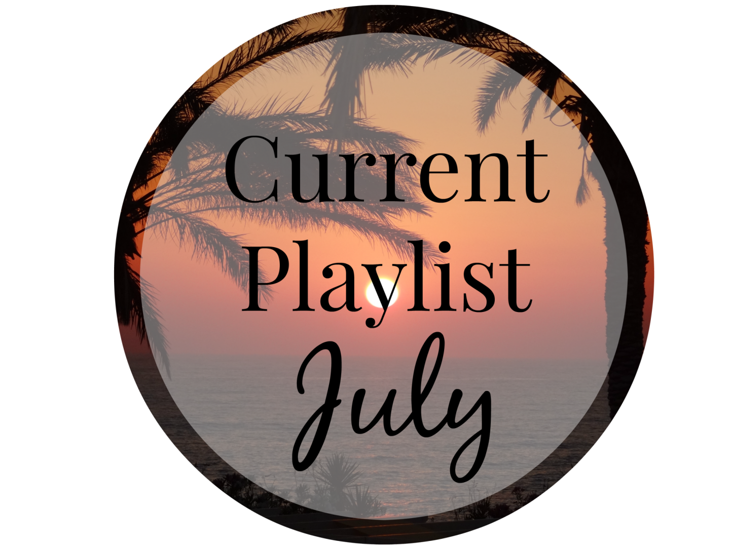 My Current Playlist | July