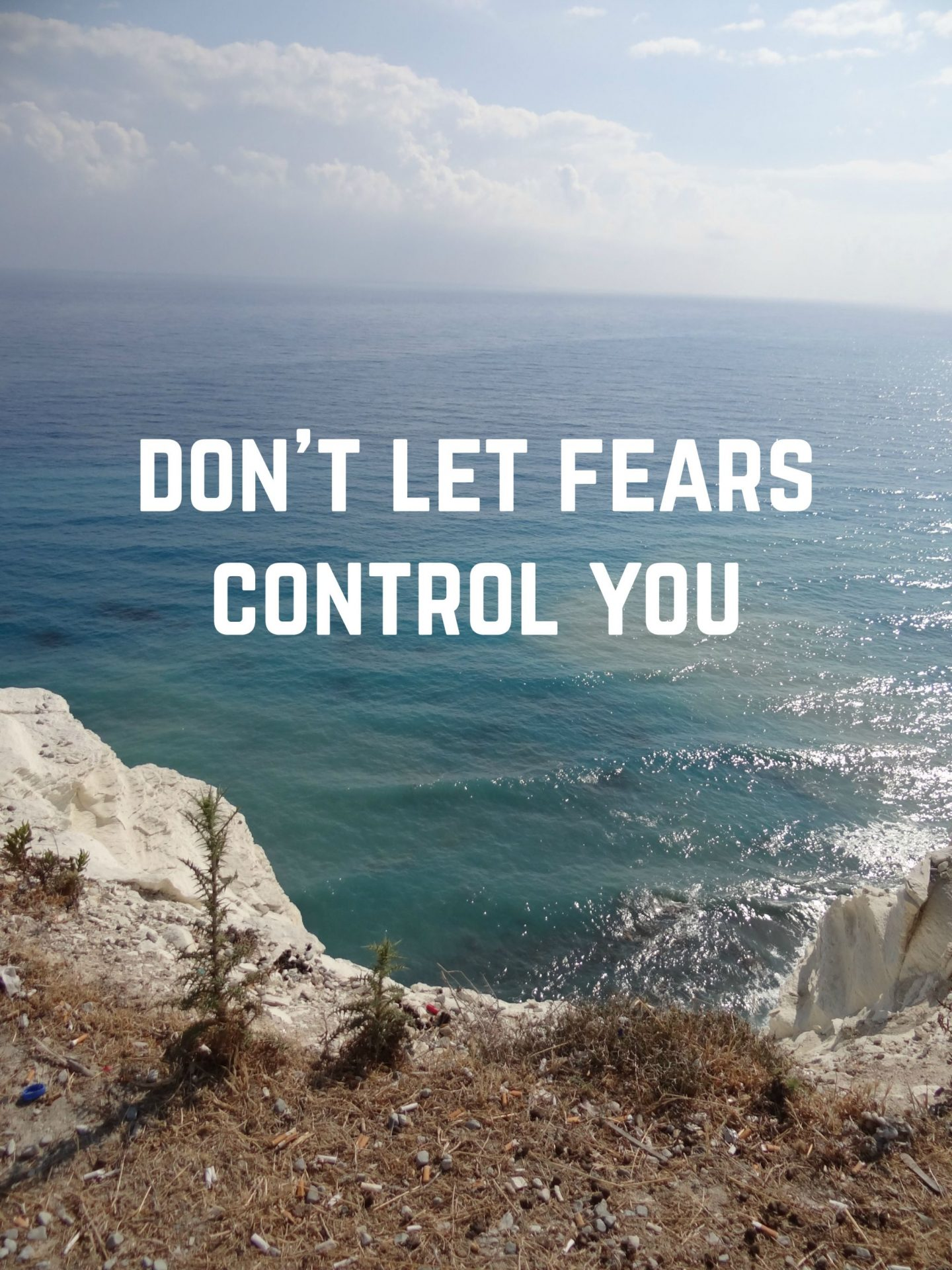 Don't Let Fears Stop You | A bit of Motivspiration
