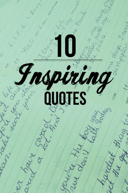 10 Amazing Quotes from the Quote Book