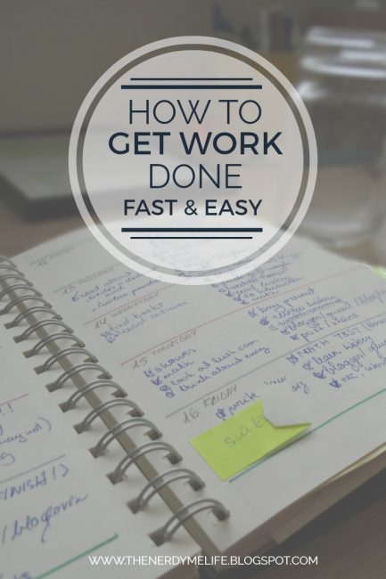 How To Get Things Done | Real Tips & No Bullsh*t