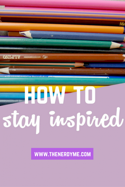 Have you ever felt so uninspired to do anything? I know how much can a lack of inspiration suck, so I made a guide on how to never lose inspiration and stay inspired all the time! Read more on www.thenerdyme.com