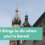35 Things to do when you're bored | The Nerdy Me