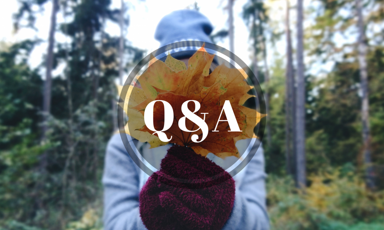Why I Blog and My Hidden Talent | Q&A Part 2