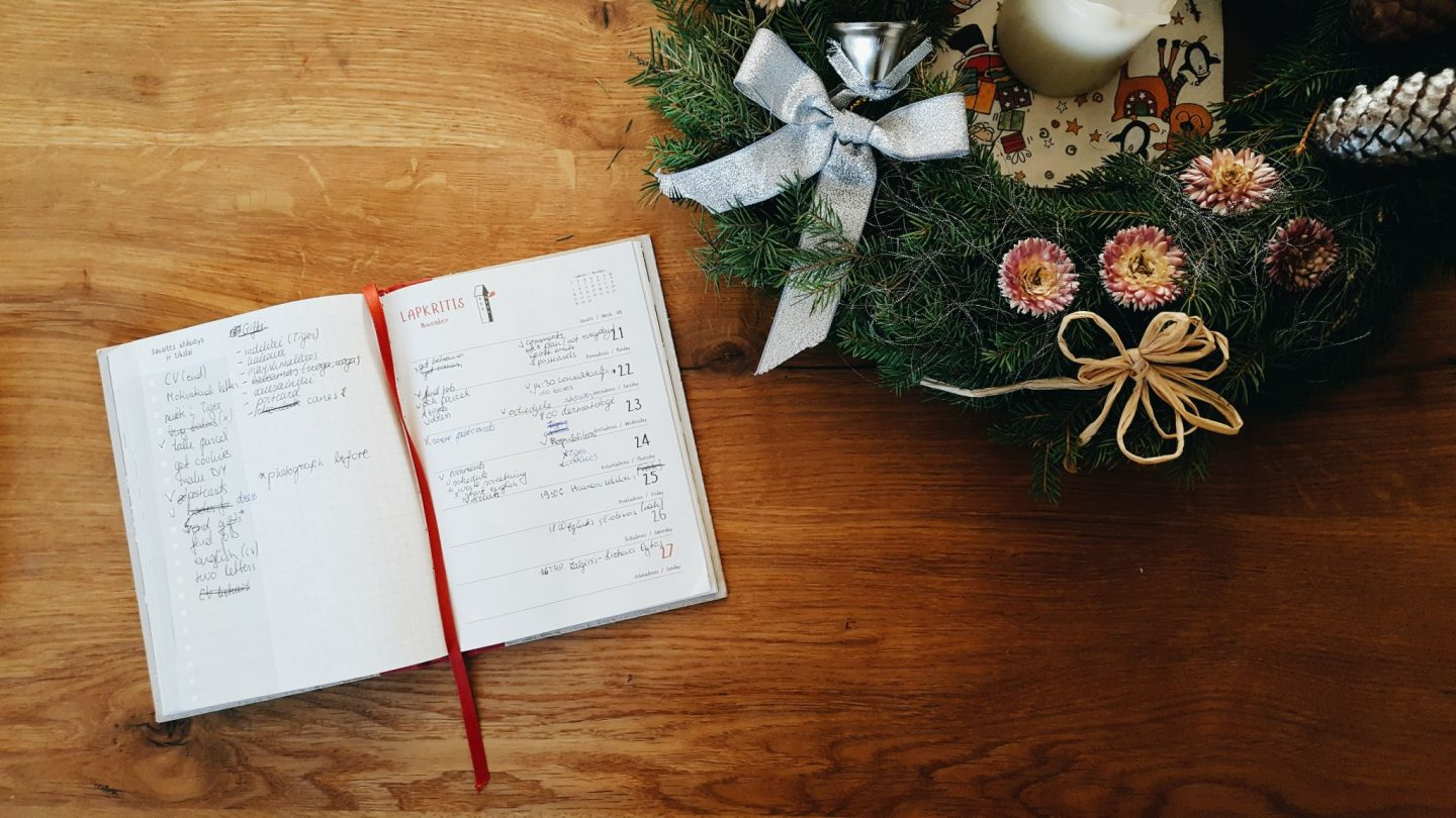Plans and goals for December | The Nerdy Me