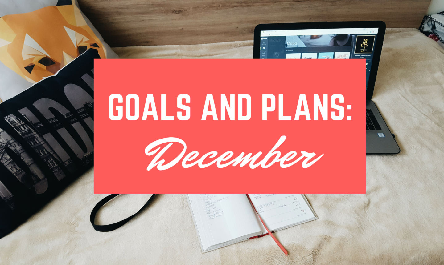 Monthly Goals and Plans | December
