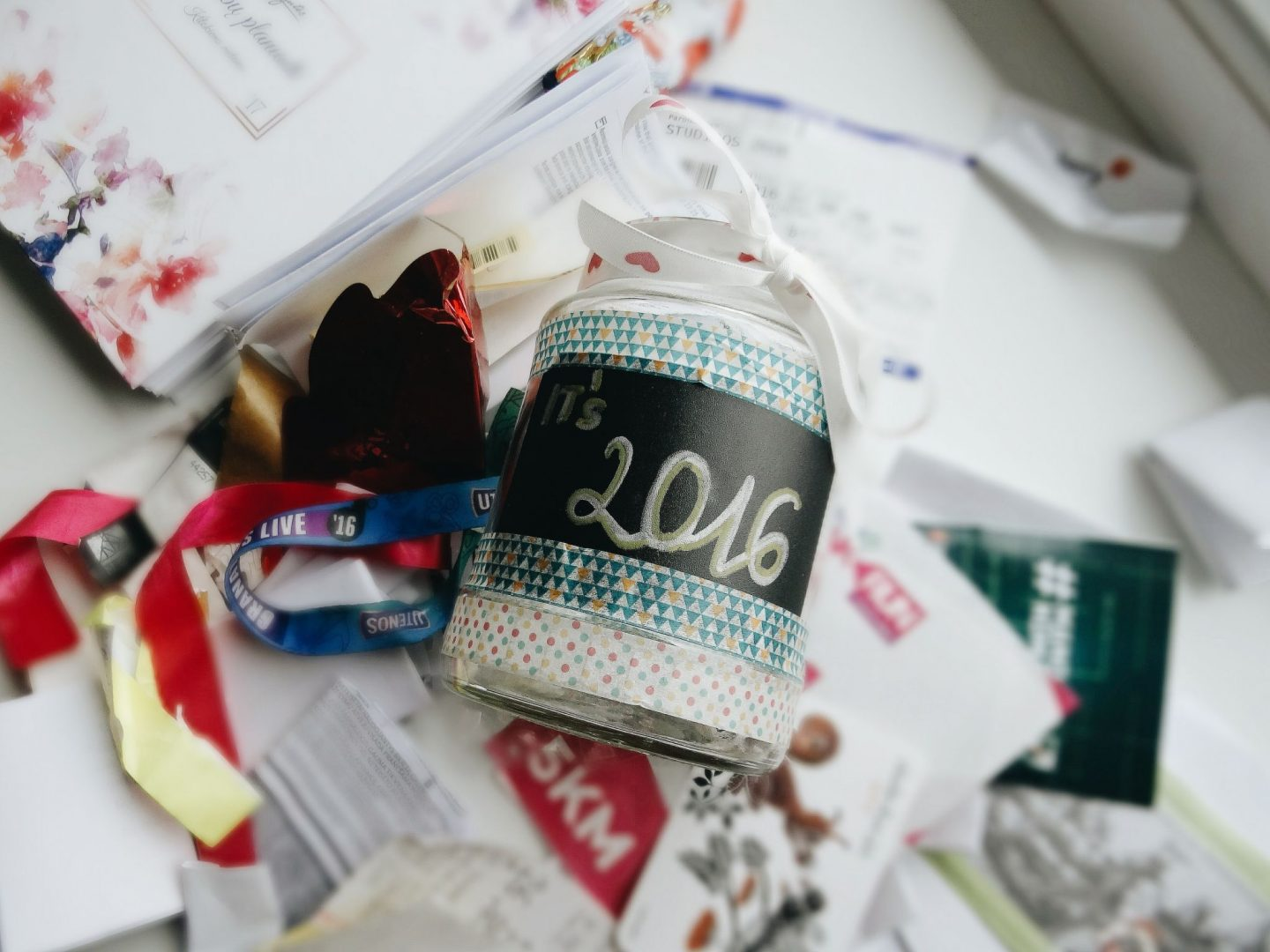 Reflection of 2016 | Best of 2016 Jar by The Nerdy Me