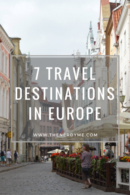 7 Destination You Should Add To Your Europe Travel Wishlist! read more at www.thenerdyme.com