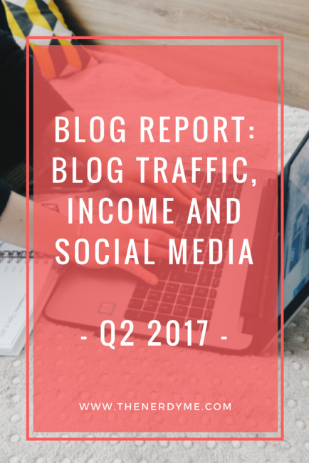 Blog Report: Income, Traffic, Social Media | Q2 2017