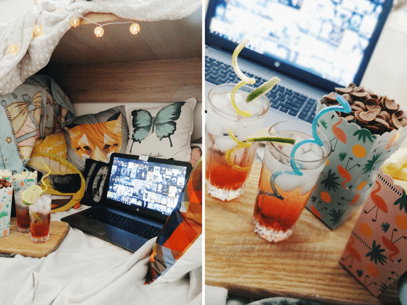 How To Throw A Perfect Movie Night | movie night ideas, outdoor, inside | www.thenerdyme.com