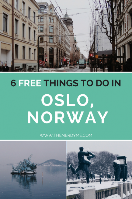 6 Best things to do in Oslo, Norway on a budget www.thenerdyme.com