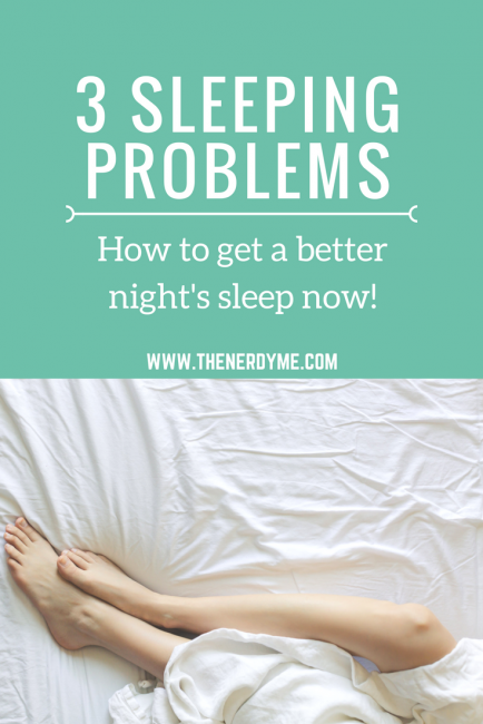 Sleeping problems college students are facing and how to solve them | www.thenerdyme.com