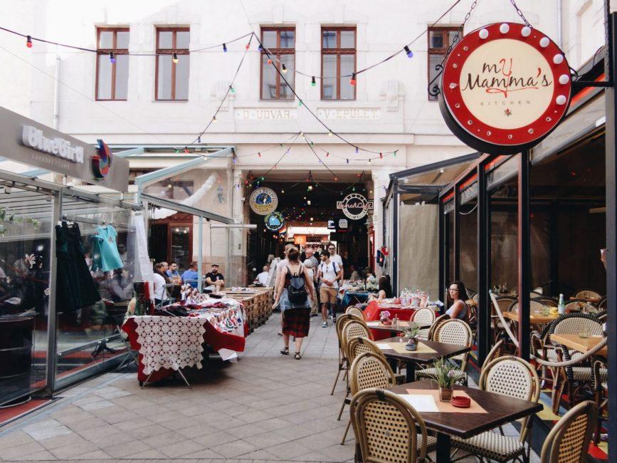 Jewish quarter in Budapest