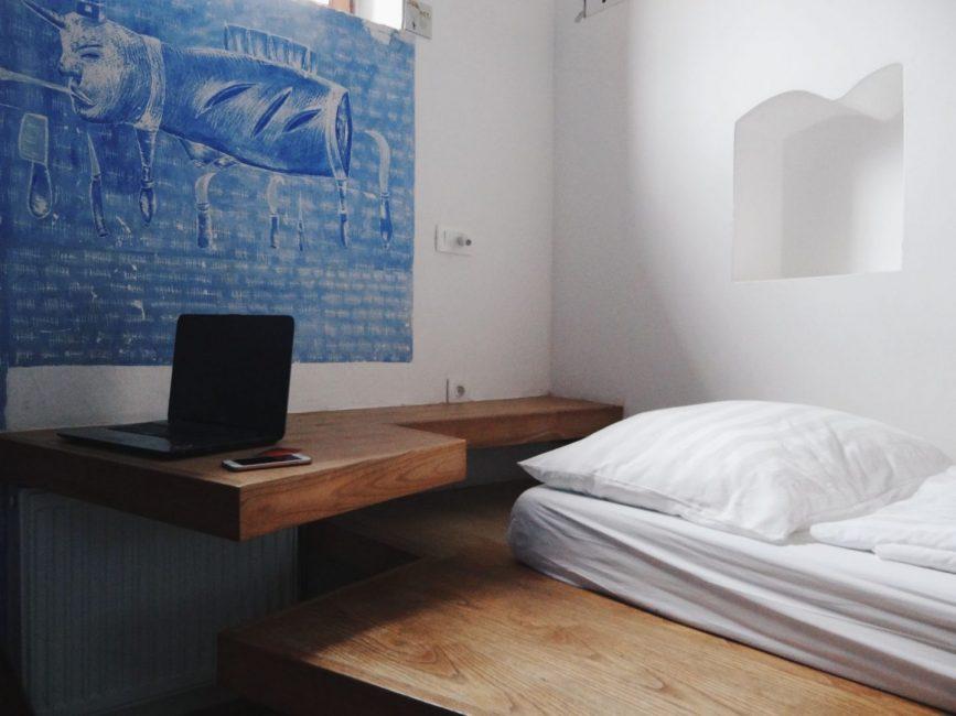 Cell 107 in Hostel Celica