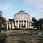 roman anthenaeum in bucharest