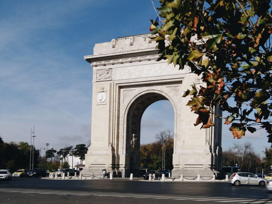 Arcul de Triumf in Bucharest