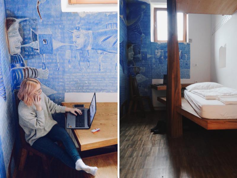 Room 107 in hostel Celica
