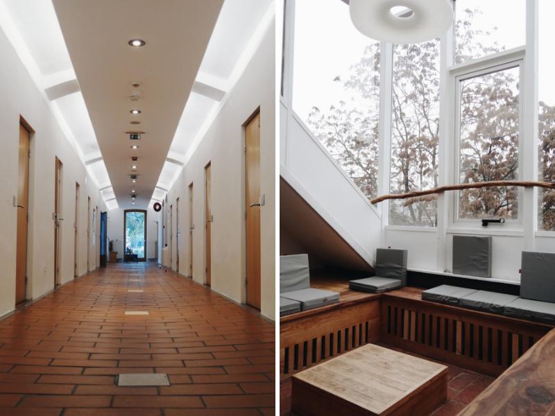 Common spaces in hostel Celica