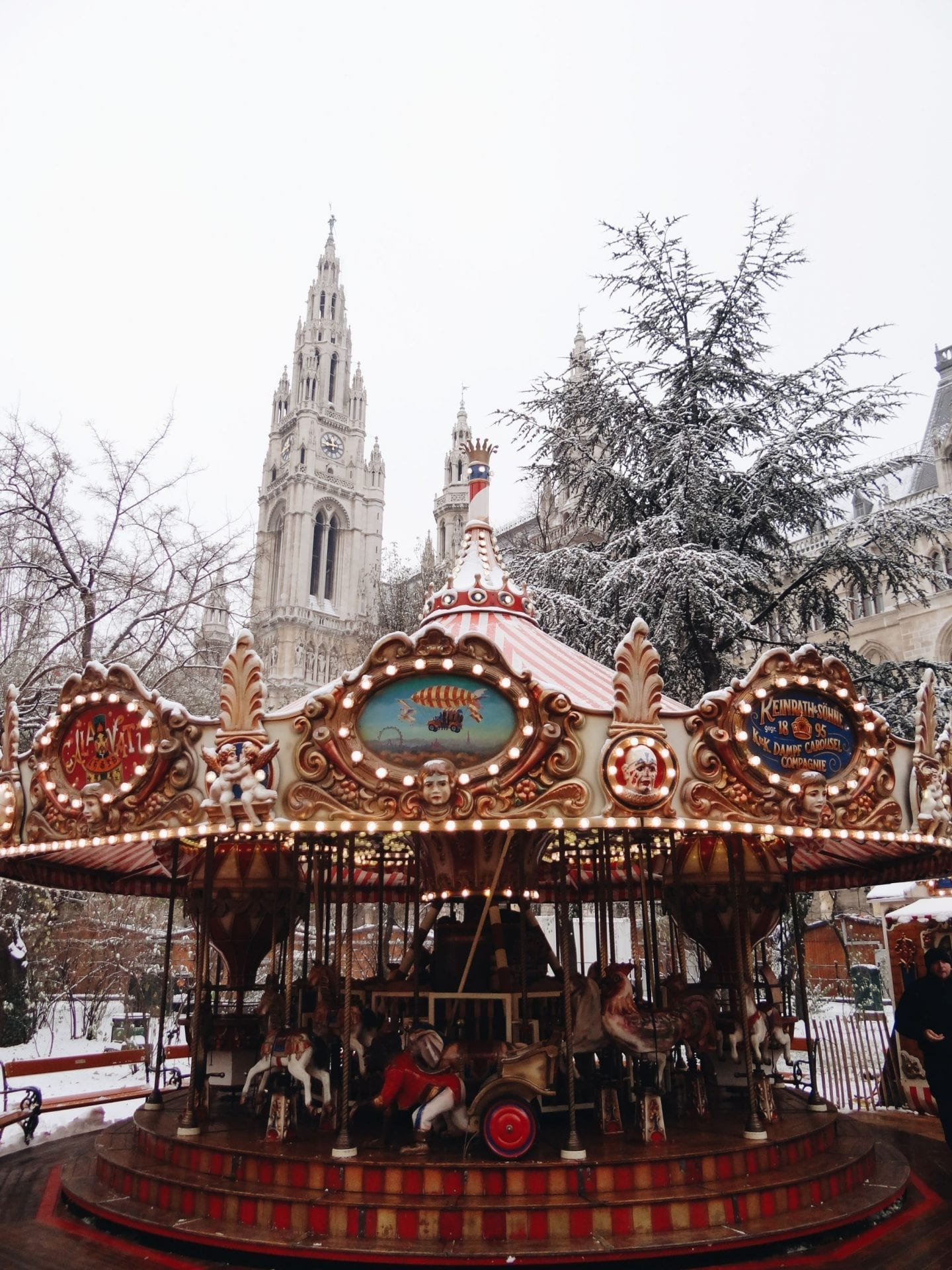 carousel in Vienna