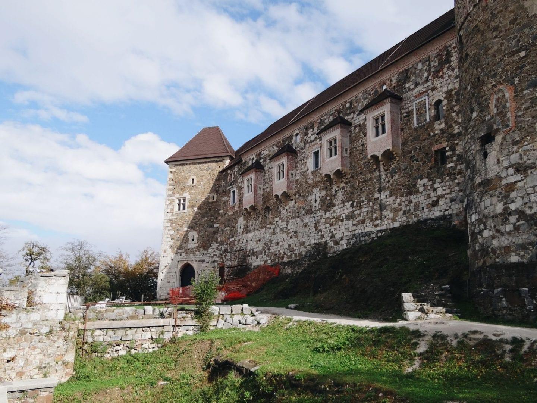 Ljubljana city guide: castle on the hill