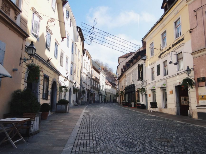 City guide to Ljubljana Slovenia