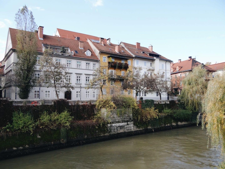 ljubljana river bank