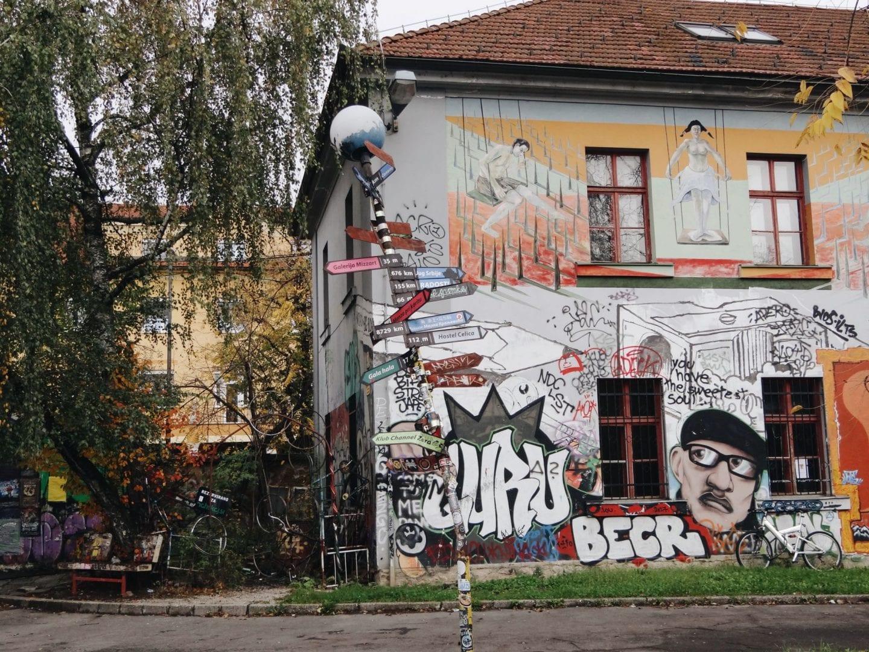 metelkova - must see spot in ljubljana