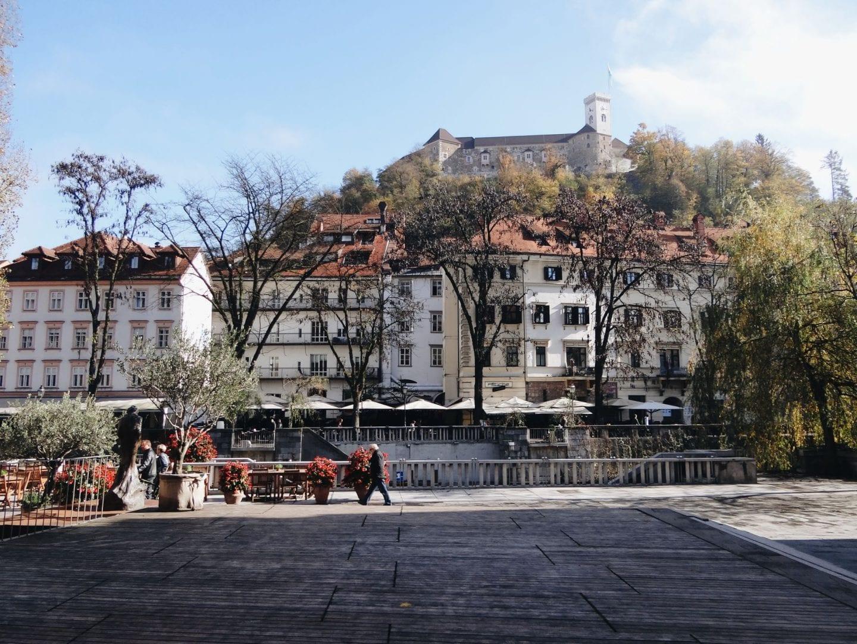 Ljubljana streets: where to eat in Ljubljana