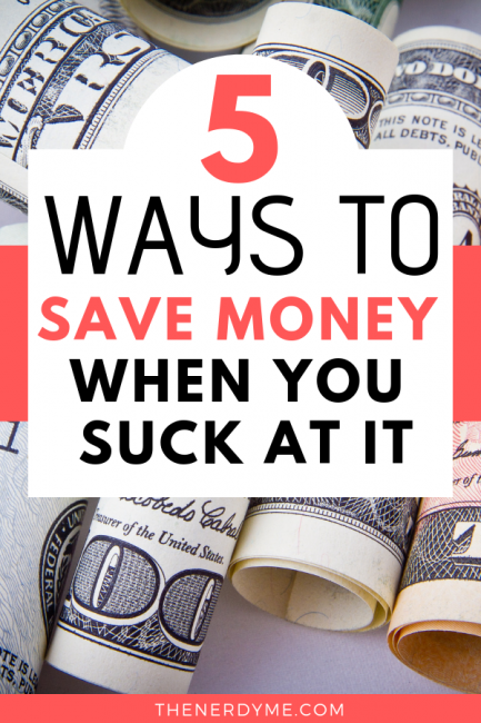 How to start saving money when you absolutely love spending them!