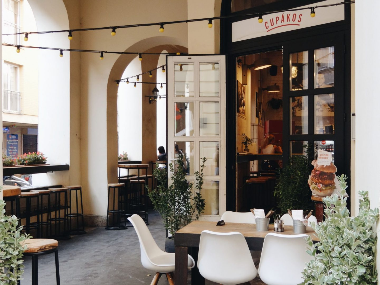 Restaurant Cupakos in Budapest