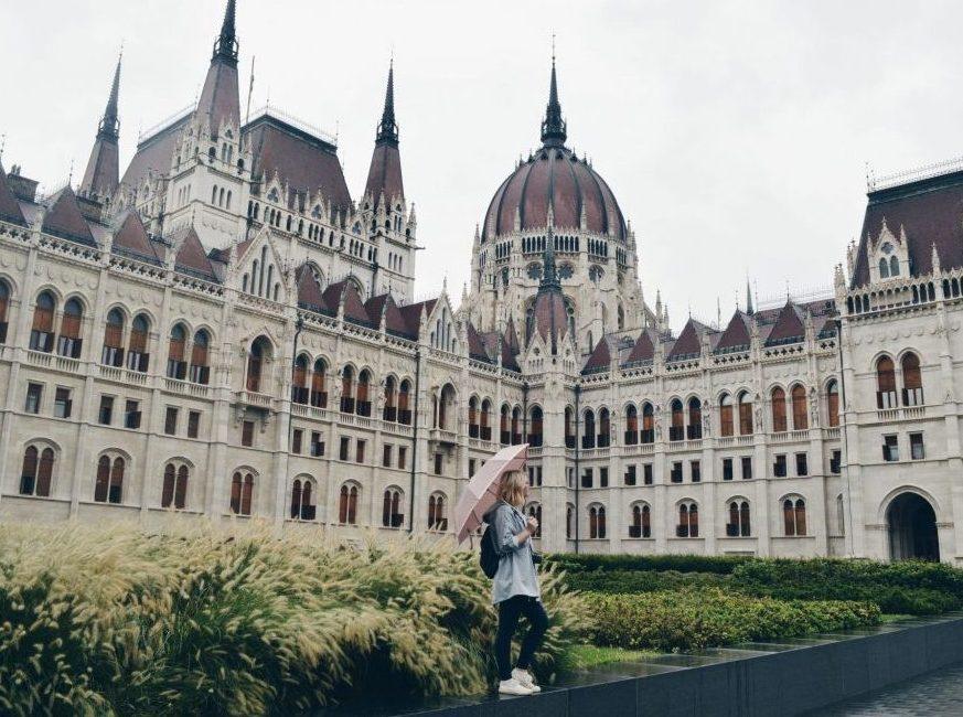 Girl in Budapest