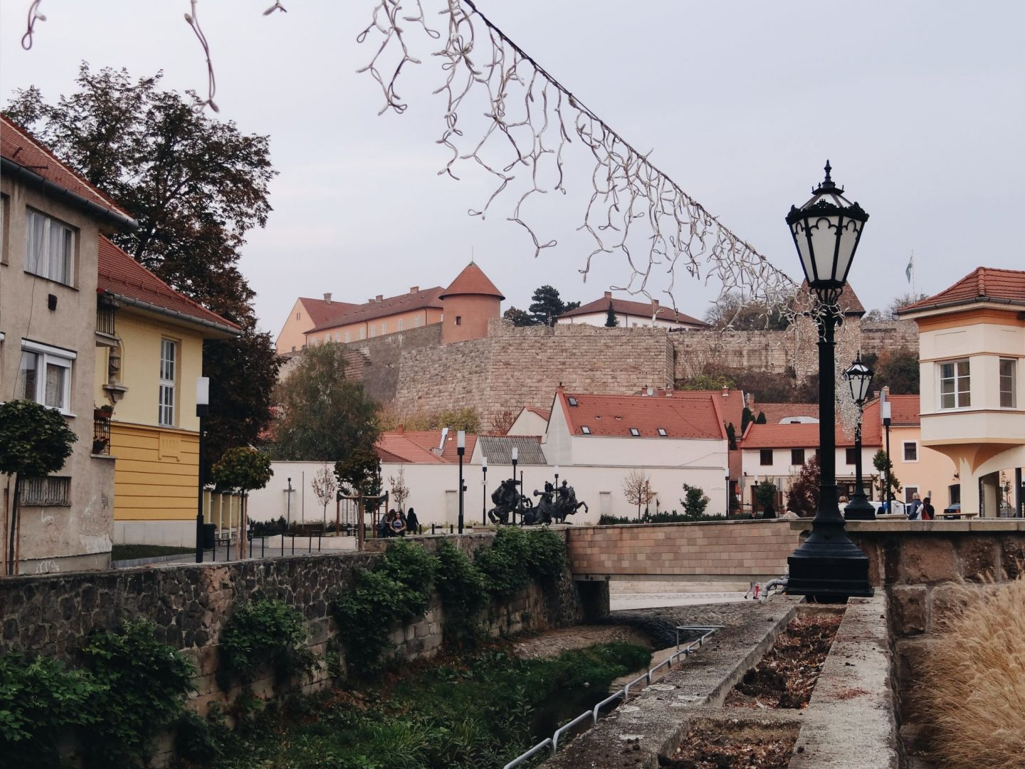 Eger old town, Hungary
