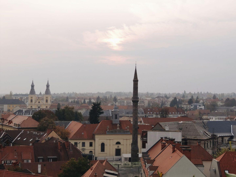 Minaret from the castle, Eger