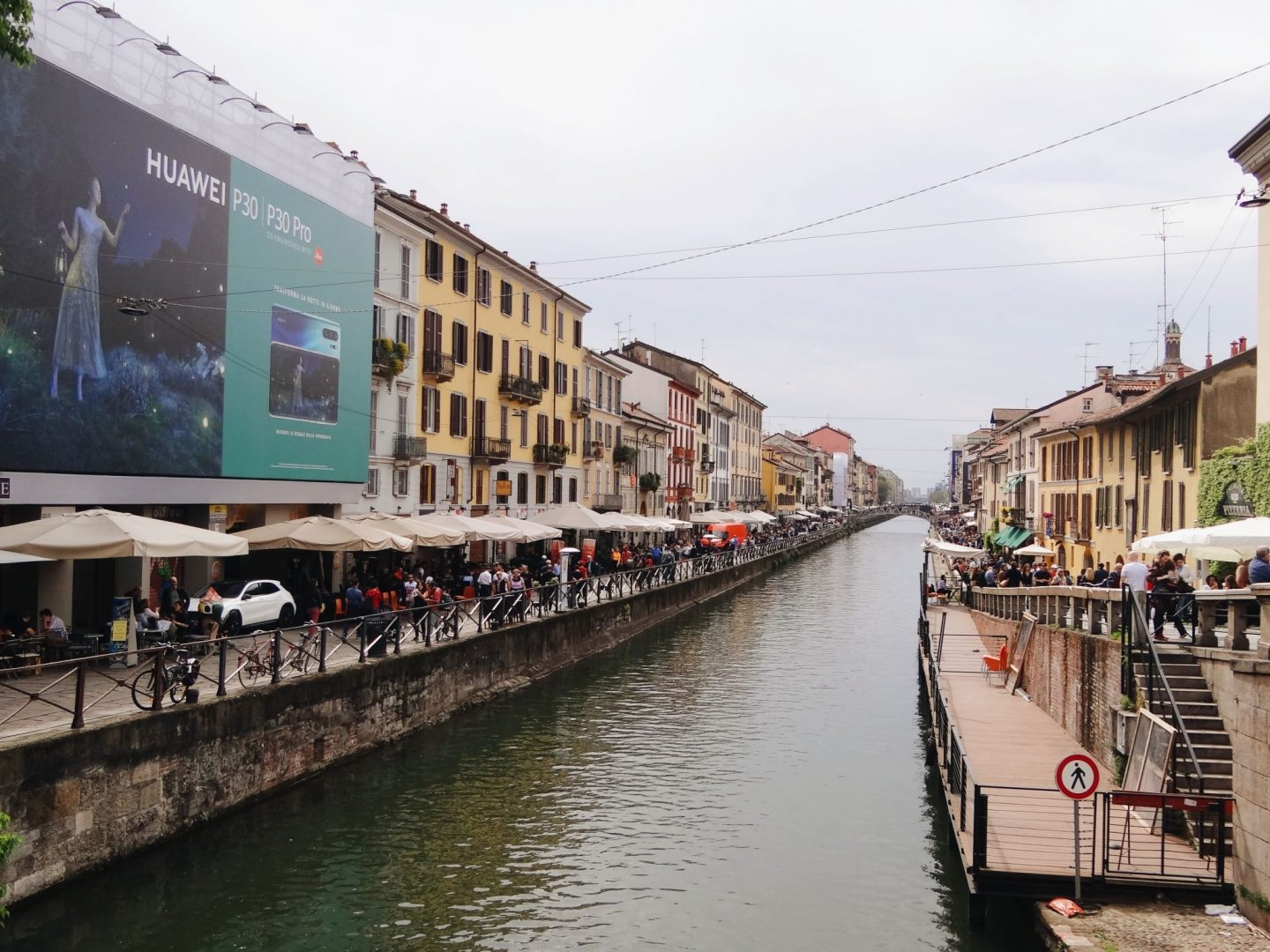 Navigli Canals in Milan, Italy