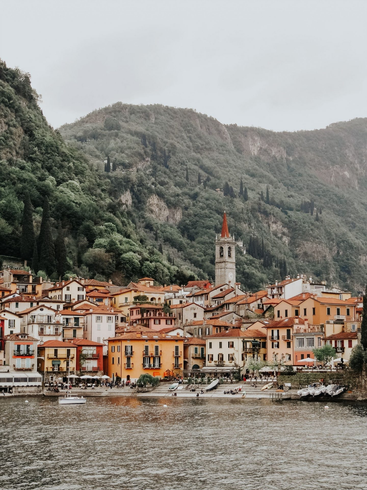 Varenna near Lake Como