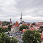 Tallinn panorama of old town