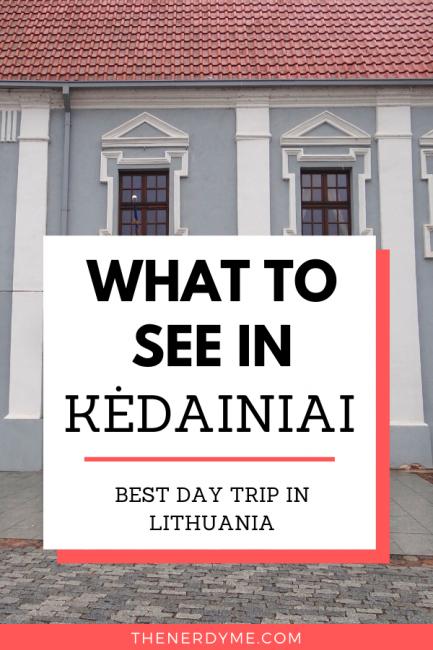 Kedainiai, Lithuania: best day trip from Kaunas and Vilnius