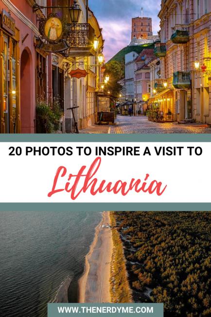 20 photos of beautiful Lithuania
