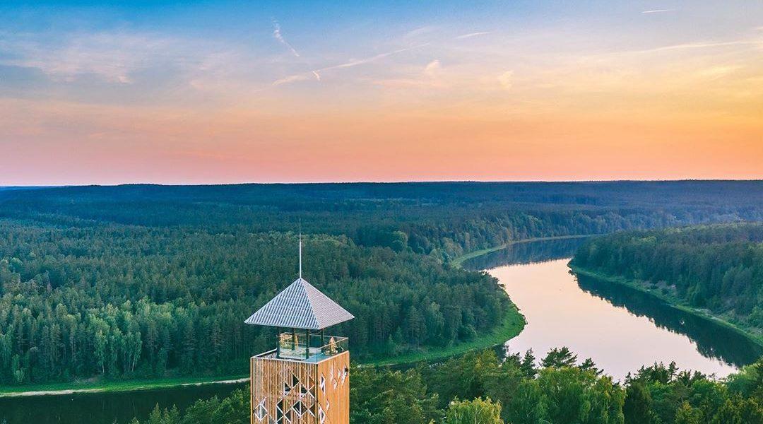 Birstonas tower in Lithuania