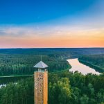 Birstonas tower in Lithuania