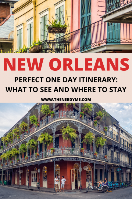 one day itinerary for new orleans usa