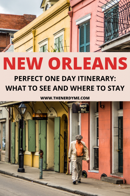 perfect one day itinerary in new orleans